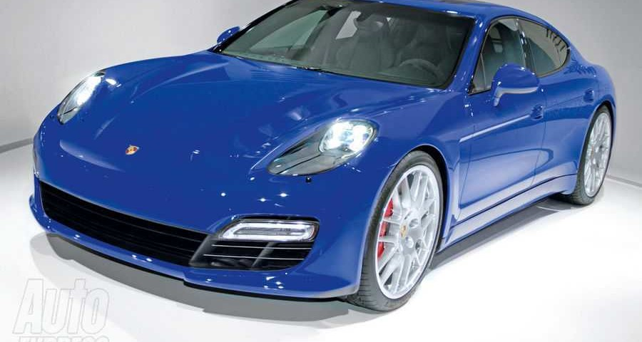La berlina Porsche Pajun