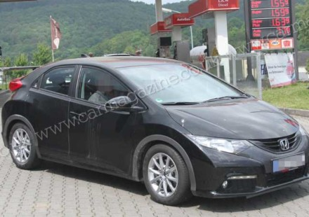 Nuova Honda Civic Typer R Spiata