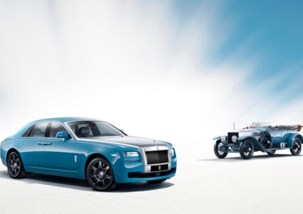 Rolls Royce Ghost Alpine Trial