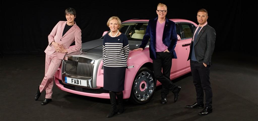 Rolls Royce Ghost FAB1 Team