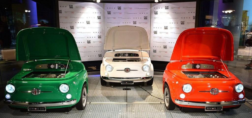 Fiat 500 Frigorifero SMEG