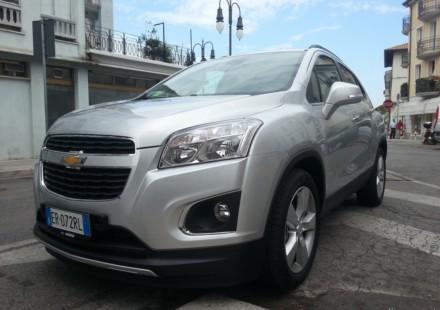 Chevrolet Trax la nostra prova