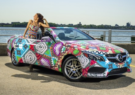 Mercedes Classe E by Mara Hoffman