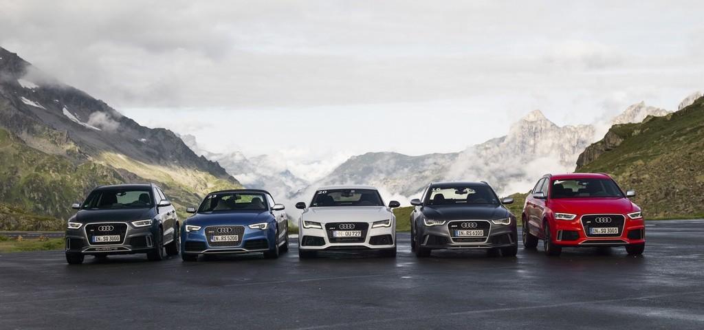 Audi Alpen Tour 2013 RS quattro