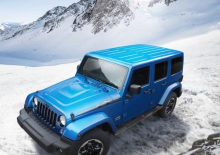 Jeep Wrangler White Polar