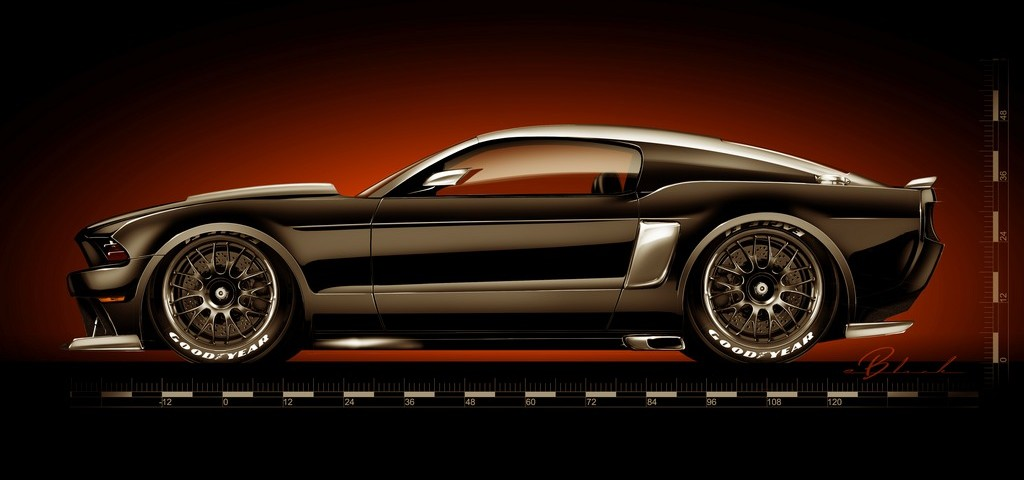 Ford Mustang Hollywood Hot Rod