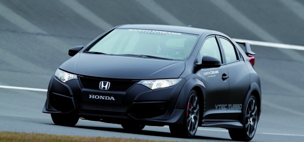 Honda Civic Type R - Ultimo prototipo