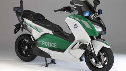 BMW C600 Evolution Polizia Concept