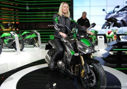 Kawasaki Z1000 EICMA 2013 Live