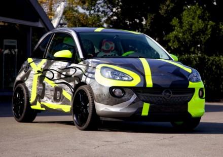 Opel Adam Valentino Rossi EICMA 2013