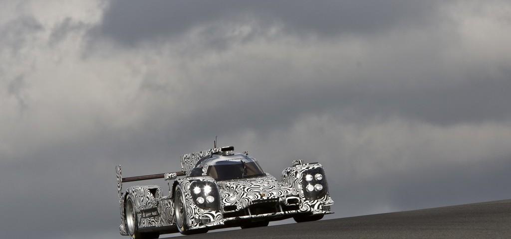 Porsche LMP1 Test 2013