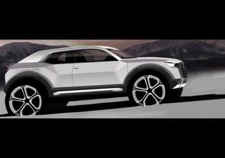 Audi Q1 Sketch