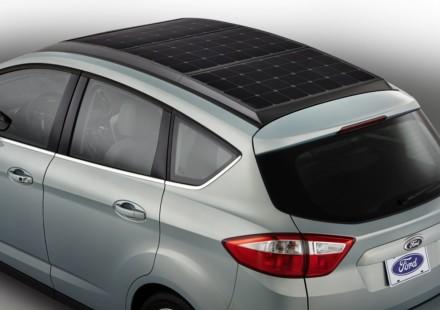 Ford C-MAX Solar Energi Concept Pannelli Solari