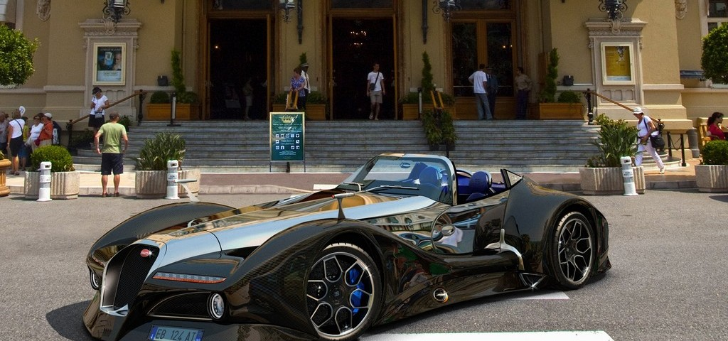 Bugatti 12.4 Atlantique Gran Sport Concept Montecarlo