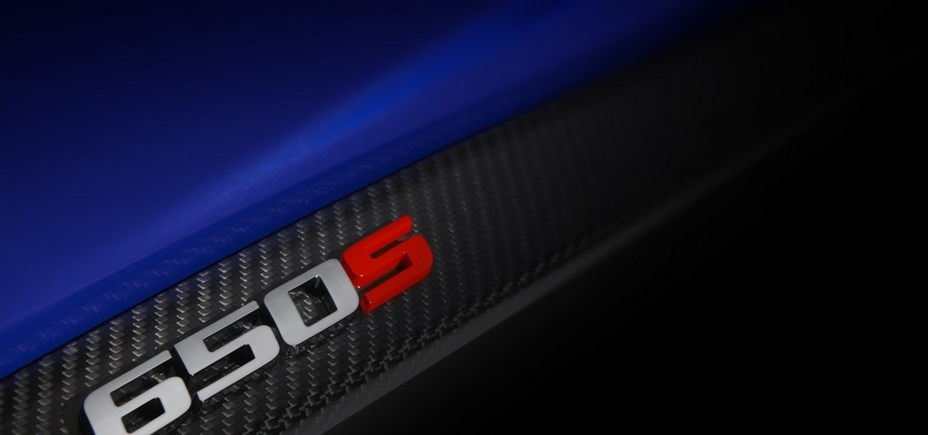 McLaren 650S logo teaser