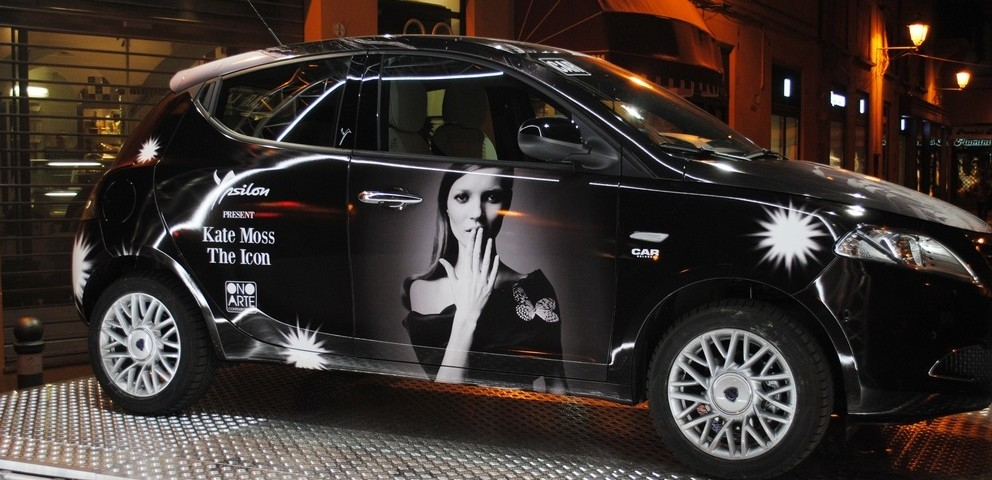 Lancia Ypsilon Kate Moss