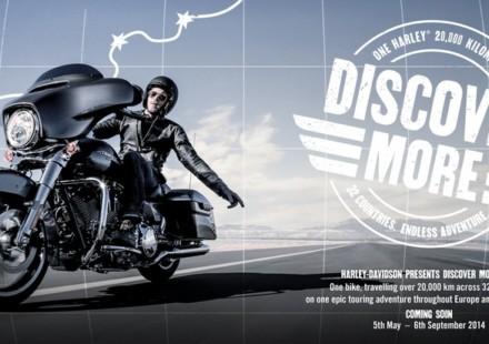 Harley Davidson Discover More