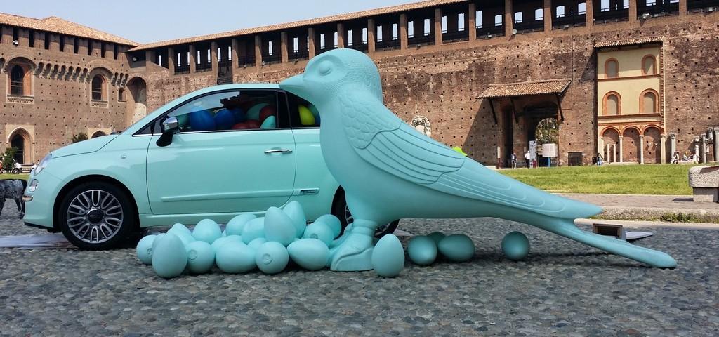 Fiat 500 Cult Cracking Art