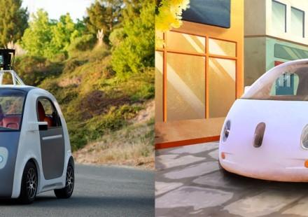 Google Self Driving Vehicle Prototype