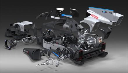 Nissan ZEOD RC Esploso
