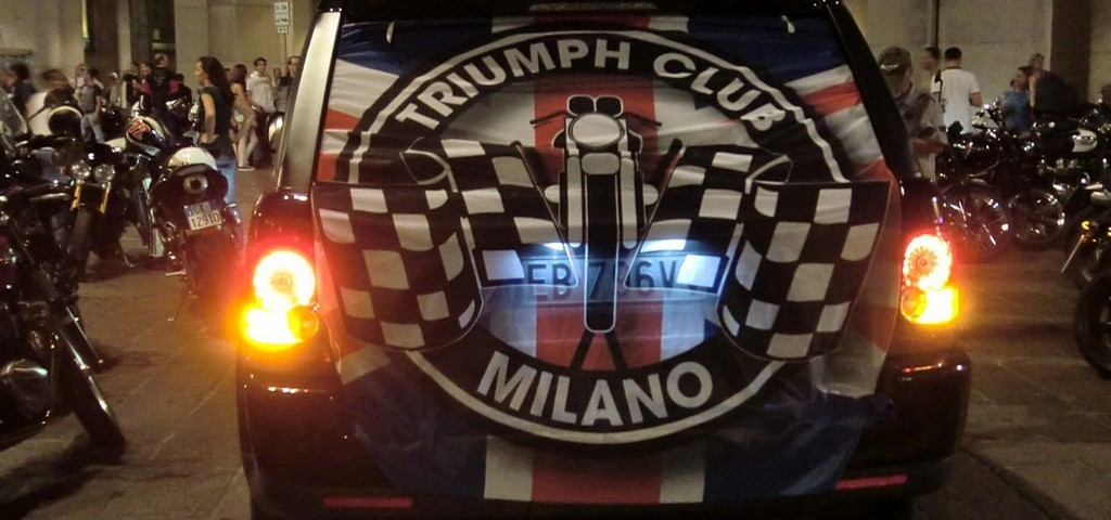 Triumph City Tour Milano 2014