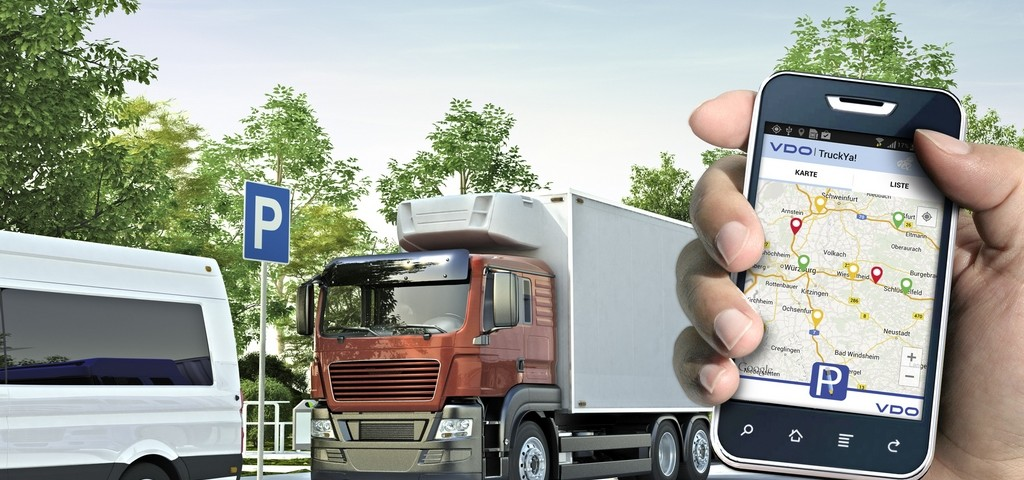 TruckYa App VDO Parcheggio Camion
