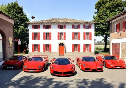 Ferrari Da Londra a Maranello