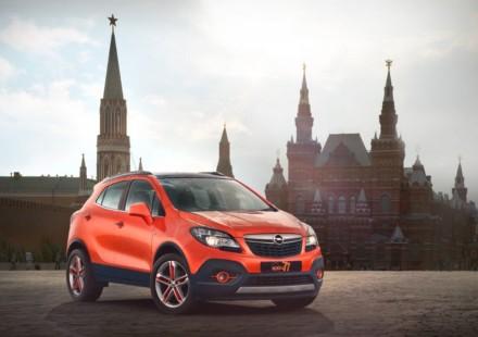 Opel Mokka Moscow