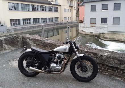 Moto _Di Ferro Bobber Prova