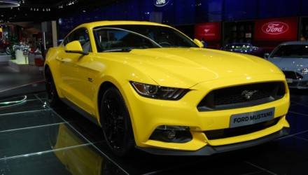 Ford Mustang LIVE