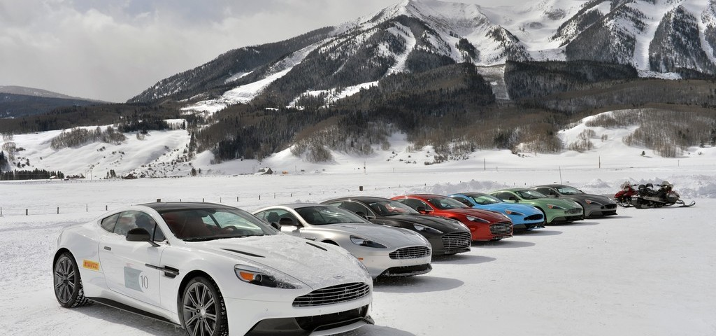 Aston Martin On Ice US 2014