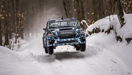 Subaru WRX STI SnoRally