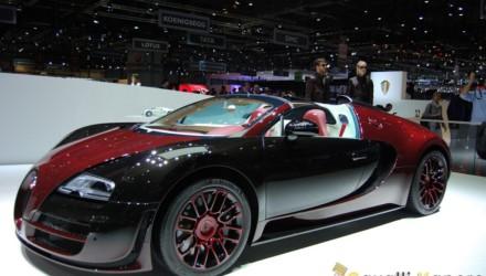 Bugatti Veyron La Finale Ginevra Live