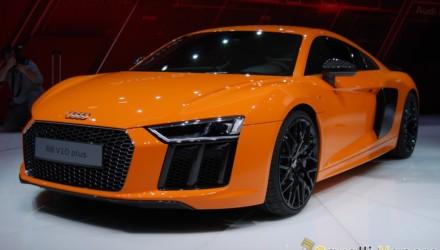 Audi R8 V10 Plus Ginevra Live 8