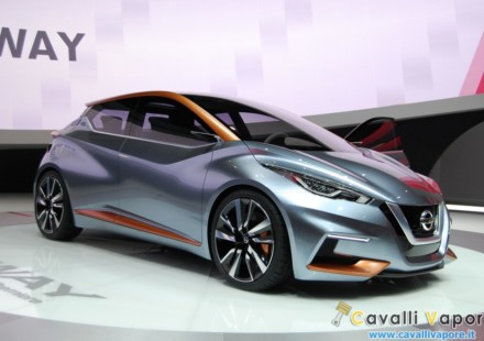 Nissan Sway Ginevra Live