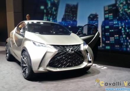 Lexus LF-SA Concept Ginevra Live 4