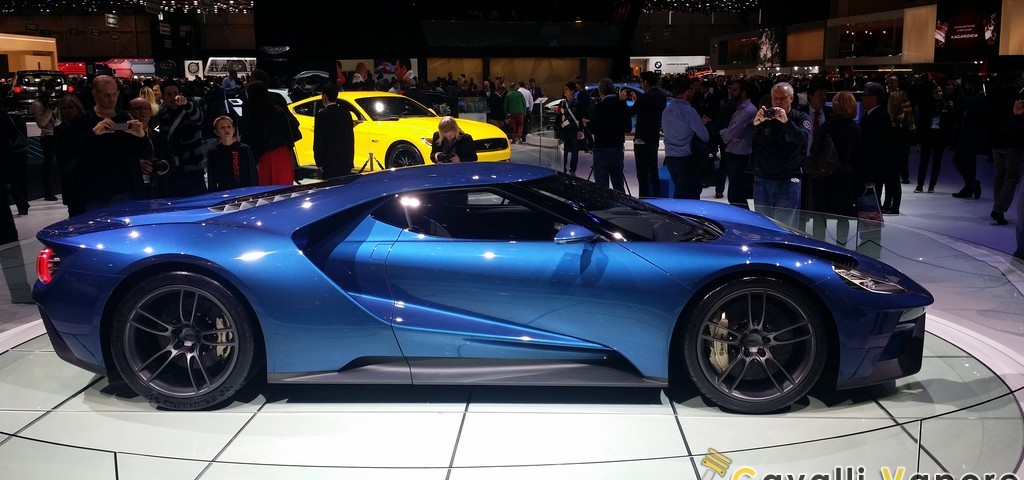 Ford GT Ginevra Live