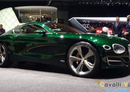Bentley EXP 10 Speed 6 Ginevra Live