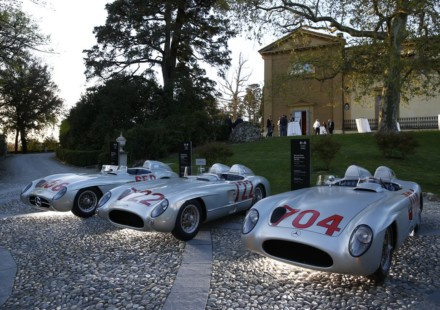 Mercedes Stirling Moss Mille Miglia 2015