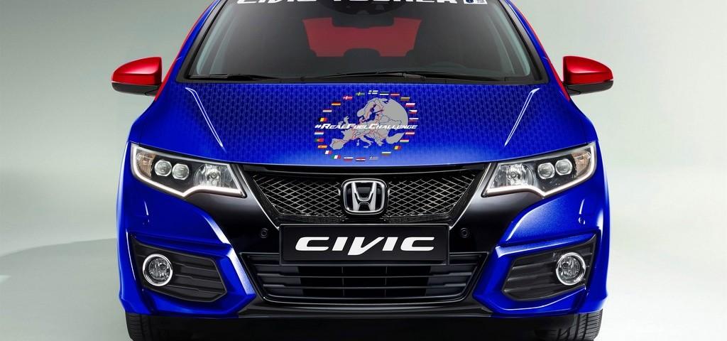 Honda Civic Tourer Guinness Record
