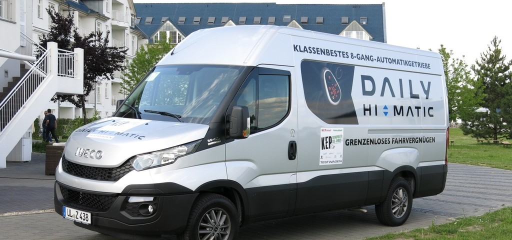 Iveco Daily Best KEP Transporter 2015