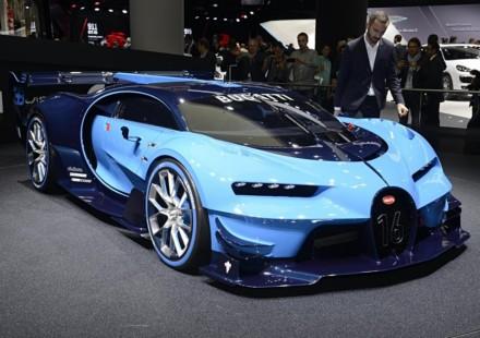 Bugatti Vision Gran Turismo Francoforte