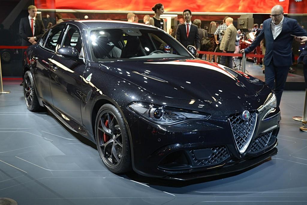 Alfa Romeo Giulia Quadrifoglio Nuova Grigia Francoforte