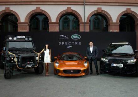 Land Rover e Jaguar 007 Spectre