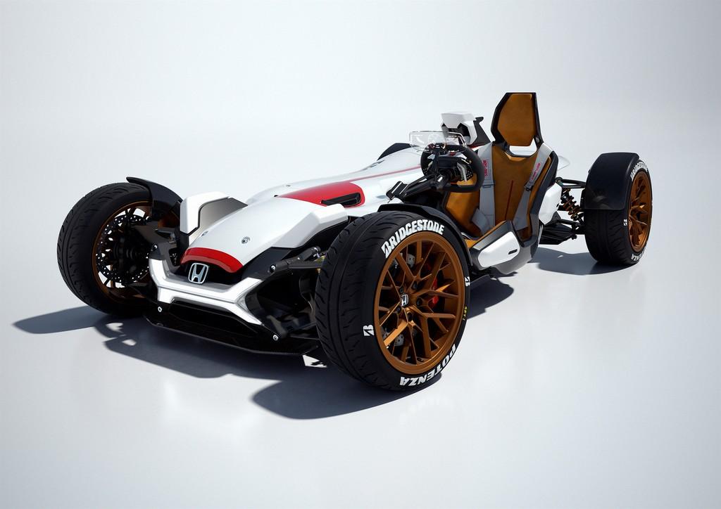 Honda Project 2&4 Tre Quarti Anteriore
