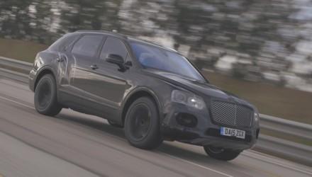 Bentley Bentayga Test