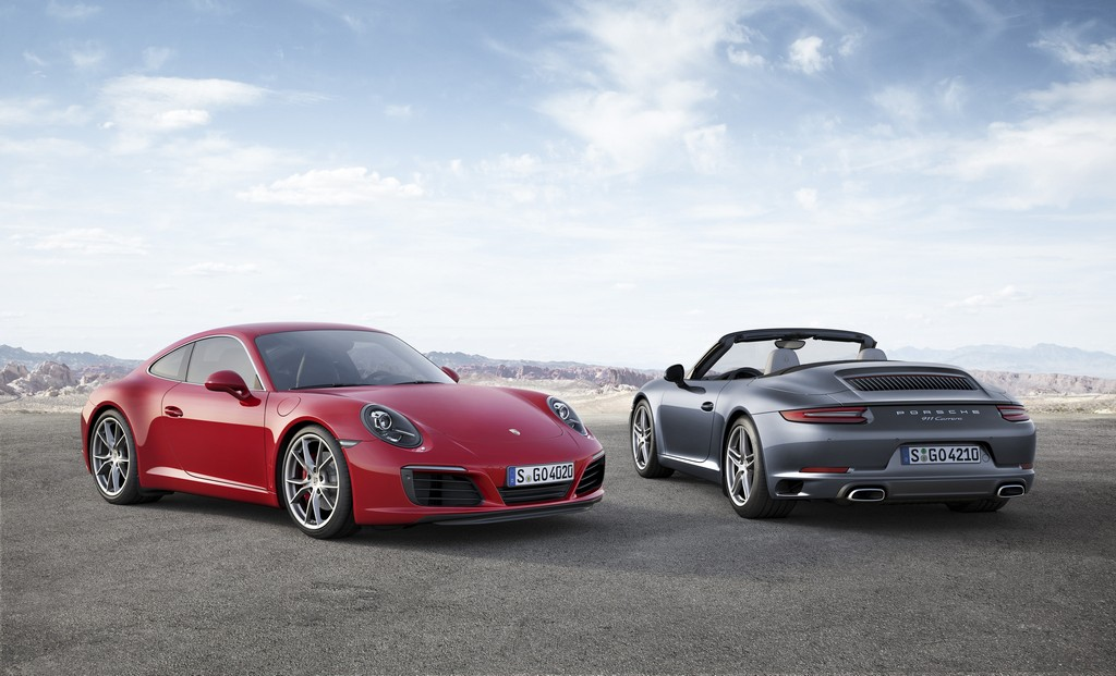 Porsche 911 nuova Carrera