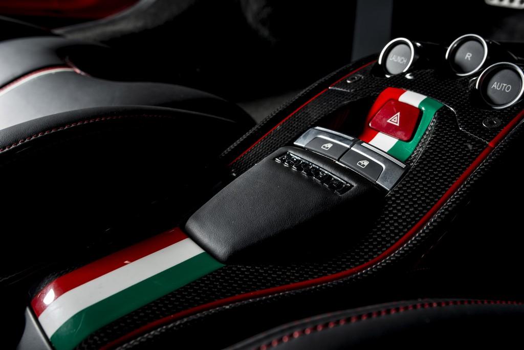 Ferrari 458 Lauda Console