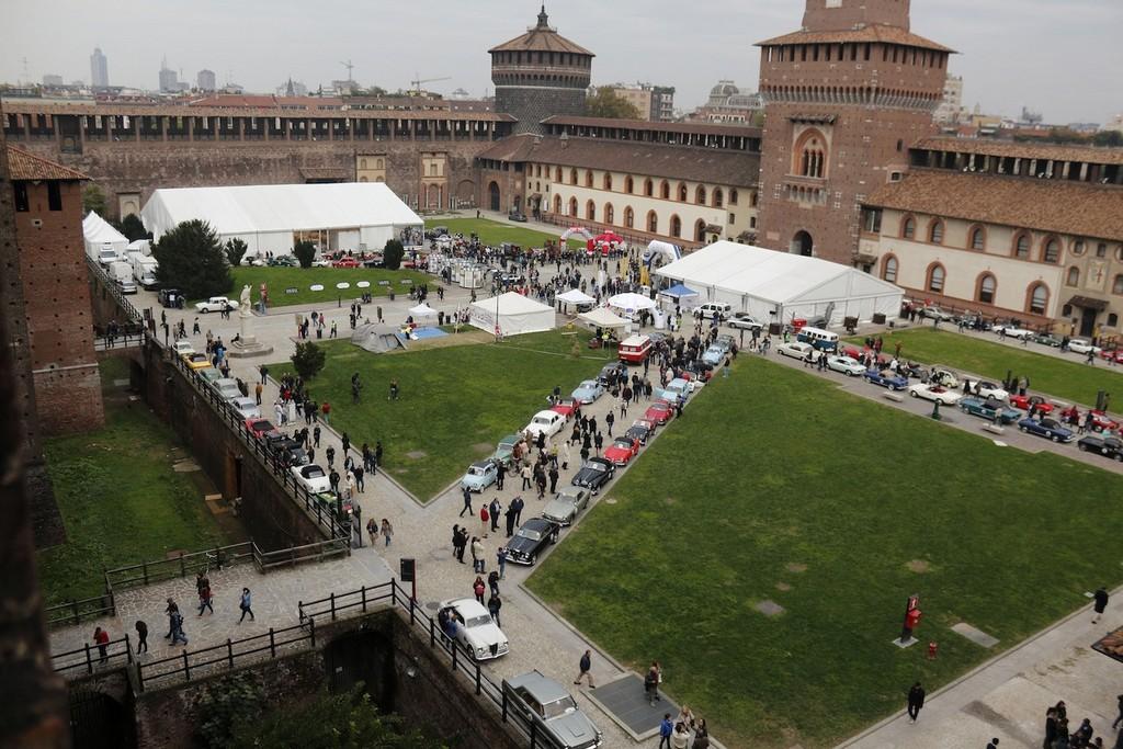 Panoramica Trofeo Milano 2015