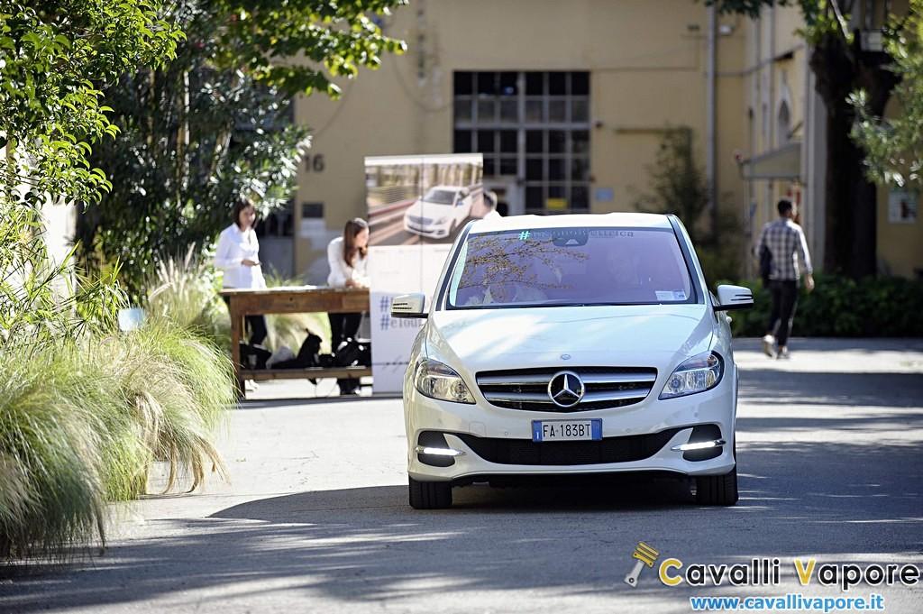 Mercedes B Electric Drive eTour Davanti Dinamica
